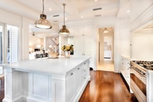 Certified Electrician Follows Kitchen Lighting Trends In