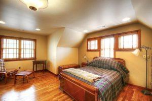 lighting adding attic bedroom